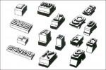 ABC Gummitypen - Verschiedene Formen