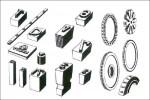 ABC Gummitypen - Verschiedene Formen (2)