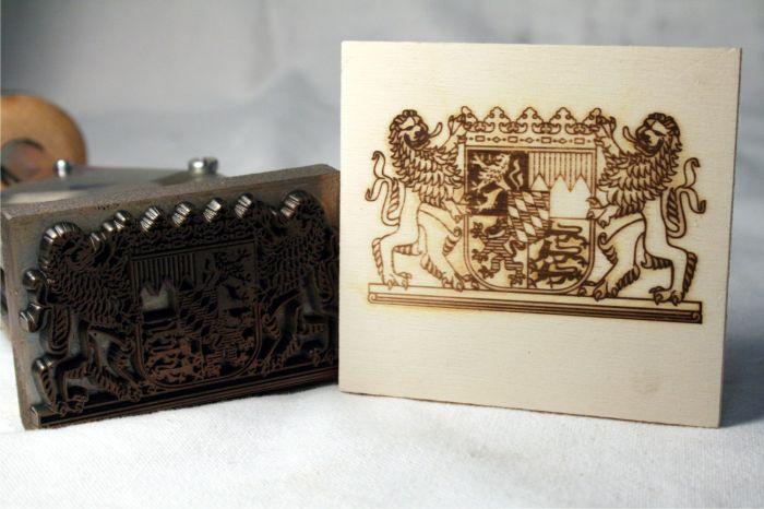 brennstempel gravur textplatte. Black Bedroom Furniture Sets. Home Design Ideas