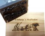 Brennstempel-Holz-Hofladen