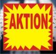 Etiketten AKTION - 29x28 mm