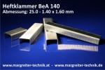 Heftklammer BeA 140