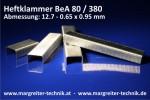 Heftklammer BeA 80 / 380