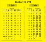 Preisauszeichner Meto 2132 GP SD - Konfiguration