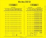 Preisauszeichner Meto 2332 GP SD - Etiketten Abdruck