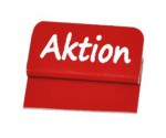 Preisschild-Reiter-Aktion